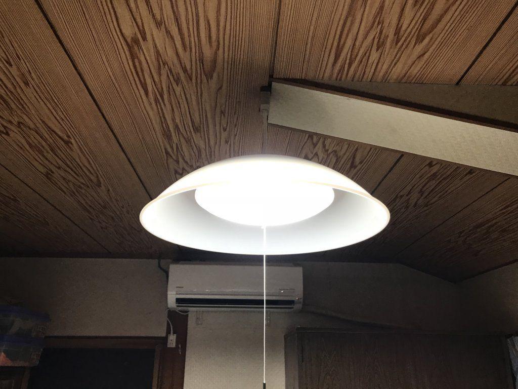 KOIZUMI(コイズミ) |LEDペンダントライトBP15702Pを取り付けた様子