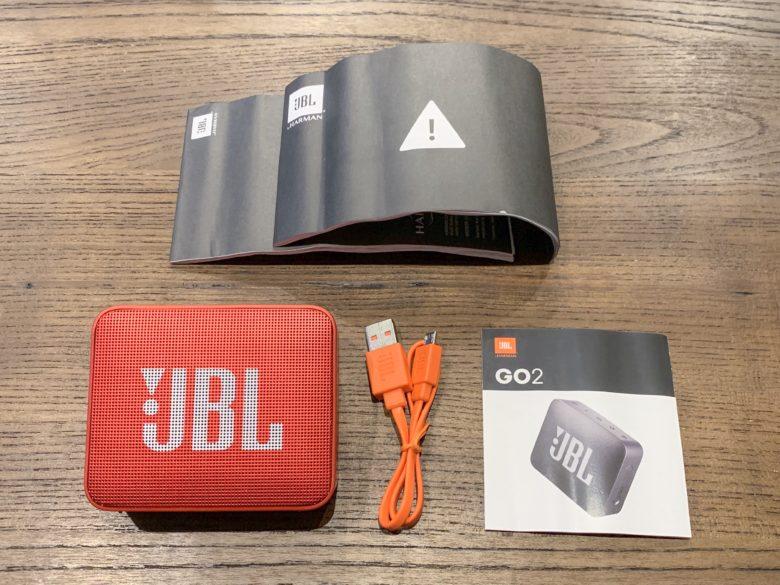 JBL GO2の付属品