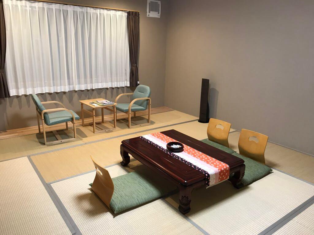 緑風荘、ふようの客室
